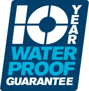 10 year waterproof guarantee